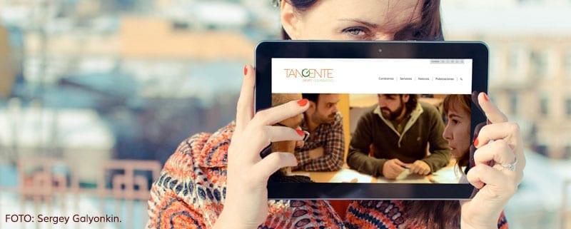 La nueva web de Tangente