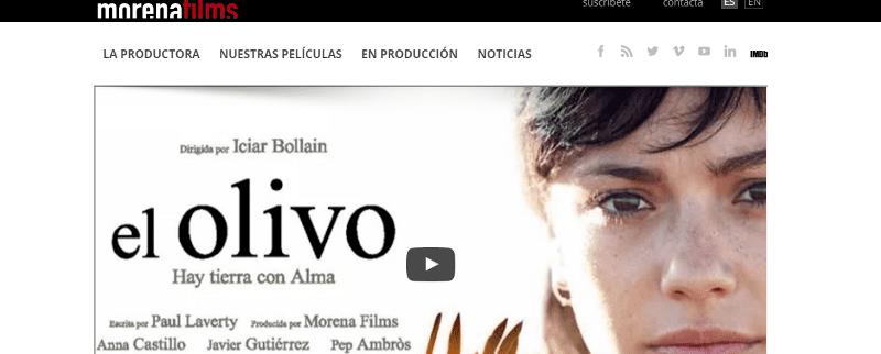 web morena films